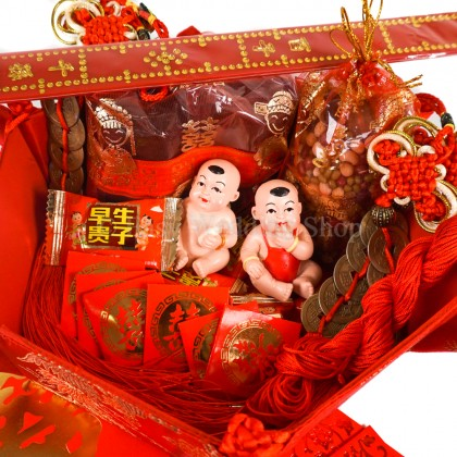 Bed Setting (An Chuang)Complete Set A 结婚安床套装组