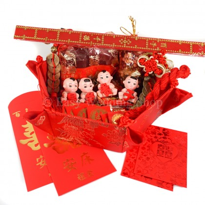 Bed Setting (An Chuang)Complete Set B 结婚安床套装组