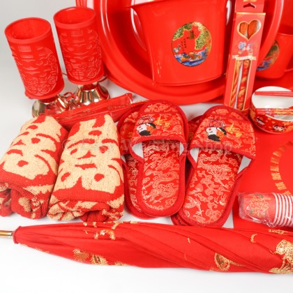 Bride's Dowry Package 1 嫁妆配套(一) with Free Gift!