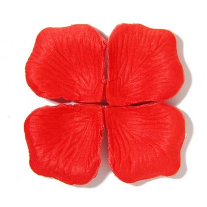 100pcs Atificial Flowers Polyester Wedding Decorations Wedding Rose Petals Flower 玫瑰花瓣